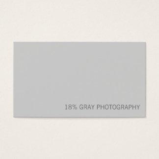 Carte de visite gris de code du photographe QR de