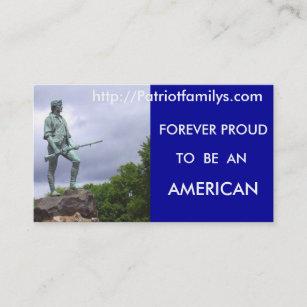Carte De Visite Patriotfamilys