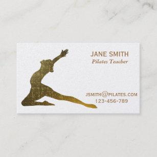 Carte De Visite Instructeur Pilates Professeur