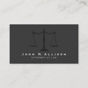 Carte De Visite La Justice Simple Mandataire Mesure Le Noir