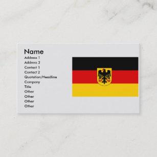 Carte De Visite LAllemagne Allemagne