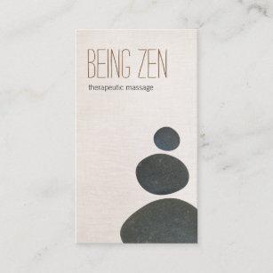 Carte De Visite Le Zen Lapide Therapeute Massage Et