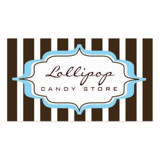 carte de visite > lucette [bleu+chocolat]