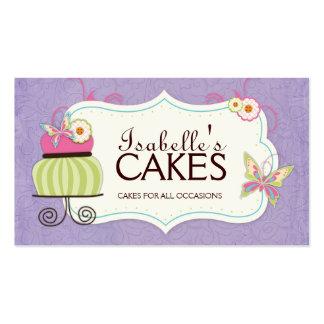 Carte de visite lunatique de boulangerie