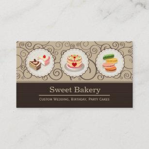 Carte De Visite Magasin Doux Boulangerie