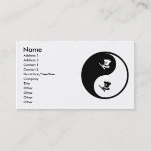 Carte De Visite Magie Yin Yang