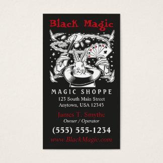 Carte de visite magique