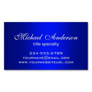 Carte De Visite Magntique But Bleu Simple Lgant Multiple Gradient