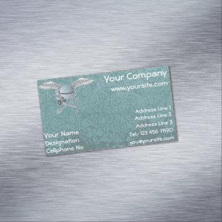 Carte De Visite Magnétique Mélangeur concret bleu-gris