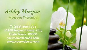 Carte De Visite Magntique Salon Spa Zen Mditation Thrapeute