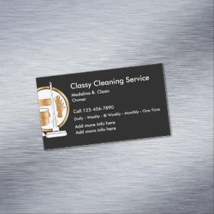 Carte De Visite Magntique Service Chic Nettoyage