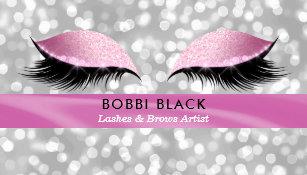 Carte De Visite Maquillage Charme Parties Scintillantes