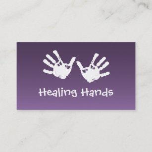 Carte De Visite Massage Curatif Mains