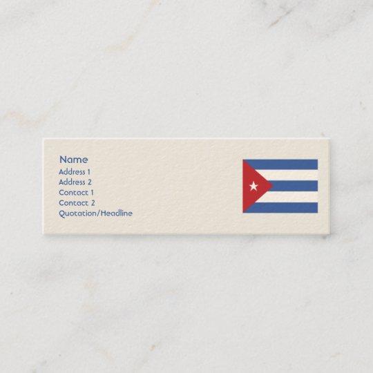 Carte De Visite Mini Le Cuba