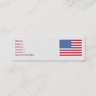 Carte De Visite Mini Les Etats Unis
