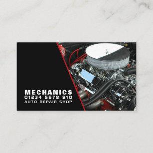 Carte De Visite Moteur Mecanicien Automobile Et Reparations