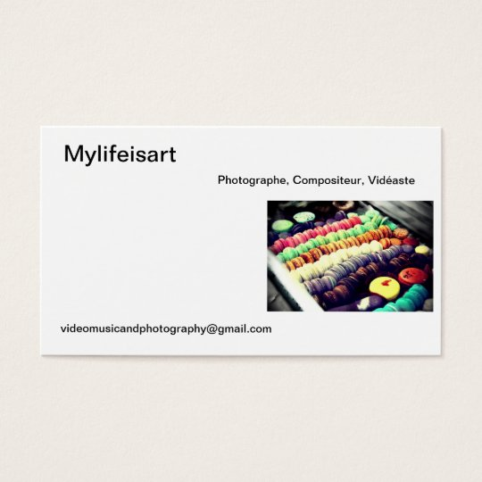 Carte de visite Mylifeisart