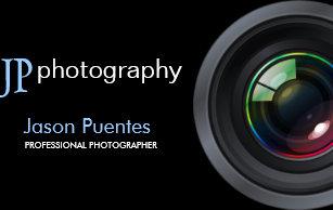 Carte De Visite Objectif Camera Professionnel Photographe