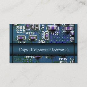 Carte De Visite Ordinateur Reparation Electronique