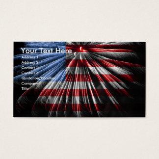 Carte de visite patriotique