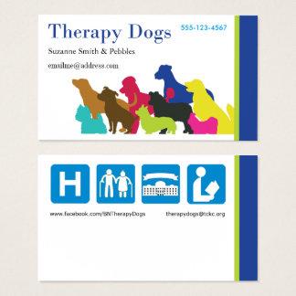 [Carte de visite - personnalisé] la thérapie Cartes De Visite