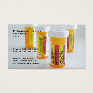 Carte de visite pharmaceutique