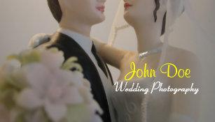 Carte De Visite Photographie Mariage Jeunes Maris