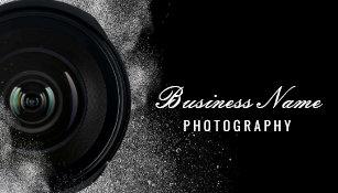 Carte De Visite Photographie Noire Et Blanche Dappareil Photo