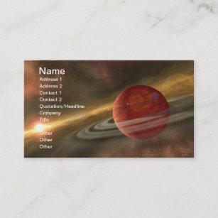 Carte De Visite Plantes NASAs Et Naines