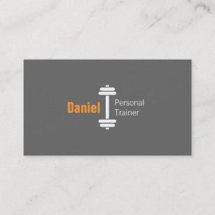 Carte De Visite Poids Personnels Dentraineur Forme Physique