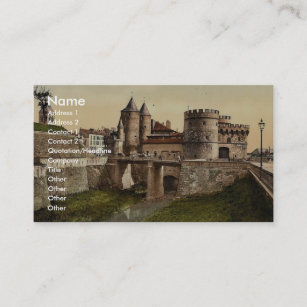 Carte De Visite Porte Allemande Vintag Metz Alsace Lorraine