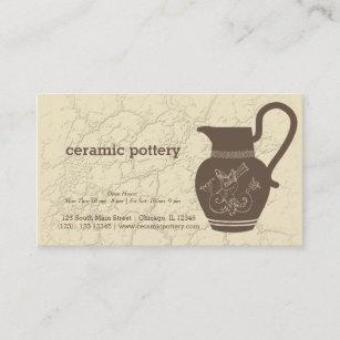Carte De Visite Poterie En Ceramique