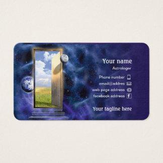 Carte de visite pour l'astrologue