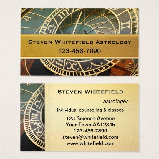 Carte De Visite Professionnel Dastrologue