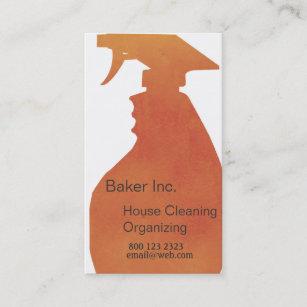 Carte De Visite Professionnel Nettoyage Chambre Domestique
