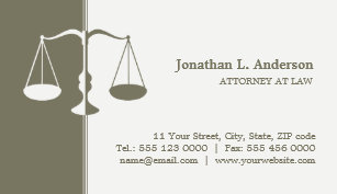 Carte De Visite Professionnel Procureur Avou