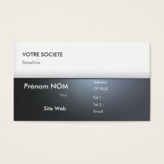 Carte de visite Professionnelle - Business Card