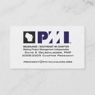 Carte De Visite Professionnelle PMI