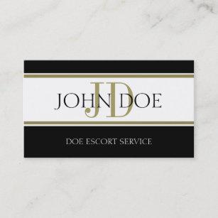 Carte De Visite Rayure W Dor Service Descorte