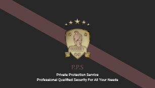 Carte De Visite Service Securite Prive