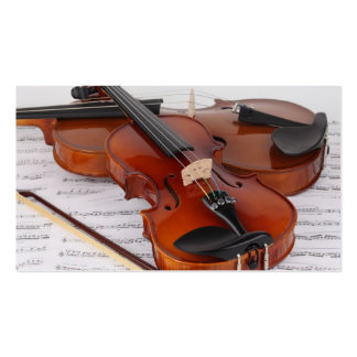 Carte de visite : Service de violon