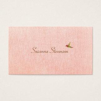 Carte de visite simple de rose d'élégance