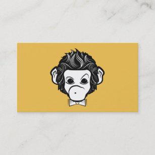 Carte De Visite singe de Monsieur