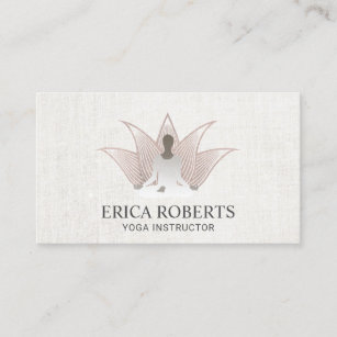 Carte De Visite Spa Rose Lotus Reiki Dor Dinstructeur