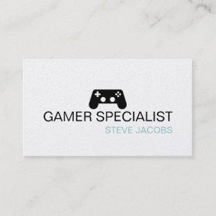 Carte De Visite Spcialiste En Gamer Jeux Vido