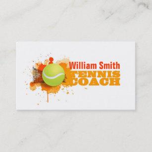 Carte De Visite Tennis Coach