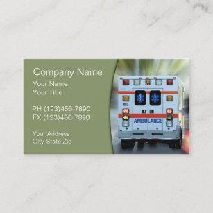 Carte De Visite Urgence Medicale SME