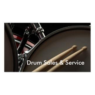 Carte de visite : Ventes et service de tambour