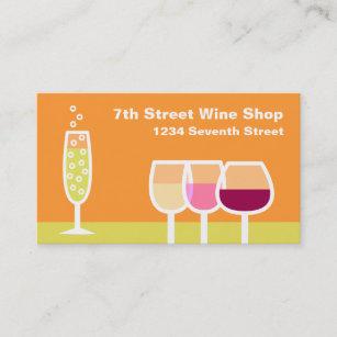 Carte De Visite Vin Et Champagne