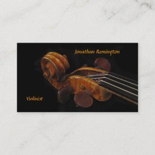 Carte De Visite Violoniste